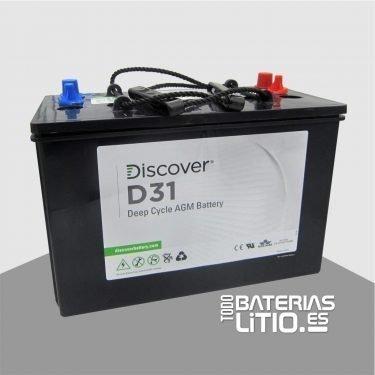 D31 Batería de tracción - Todo Baterías Litio
