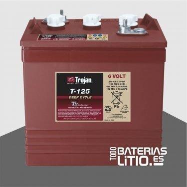 Trojan Monoblock T-125 Todo Baterias Litio