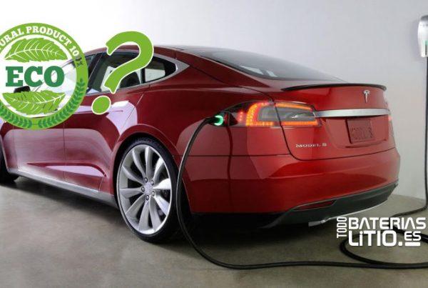 Es ecologico el coche electrico - Todo Baterias Litio