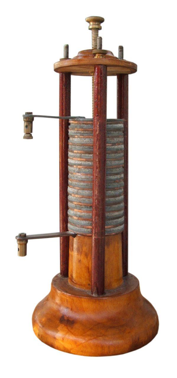 Pila Alessandro Volta - Todo Baterias Litio BLOG