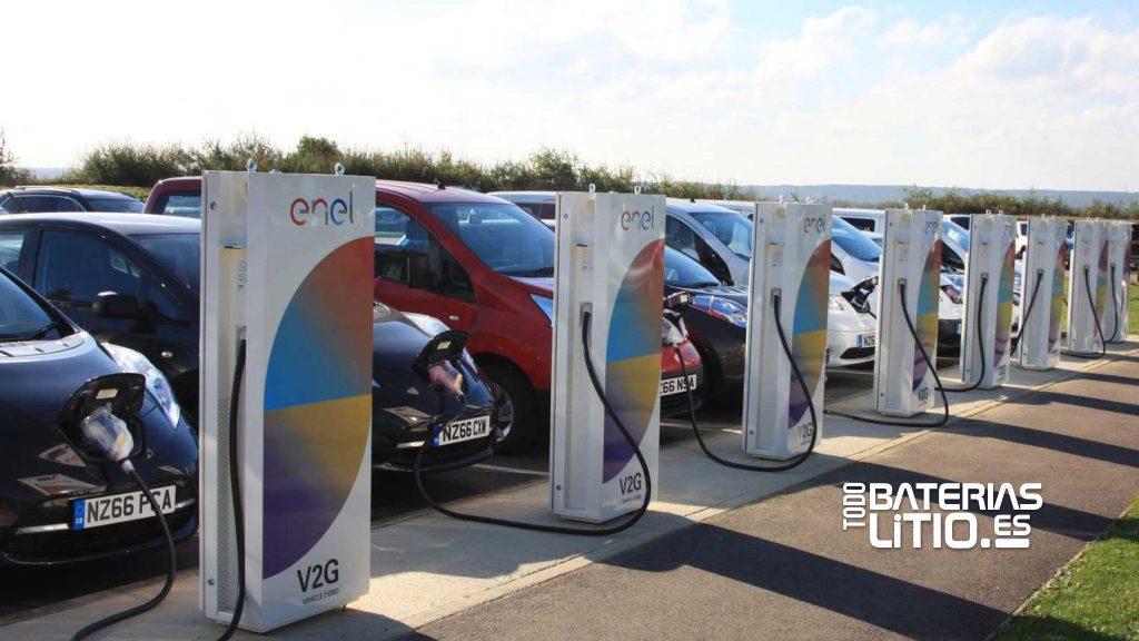 Tecnología V2G - Todo Baterias Litio