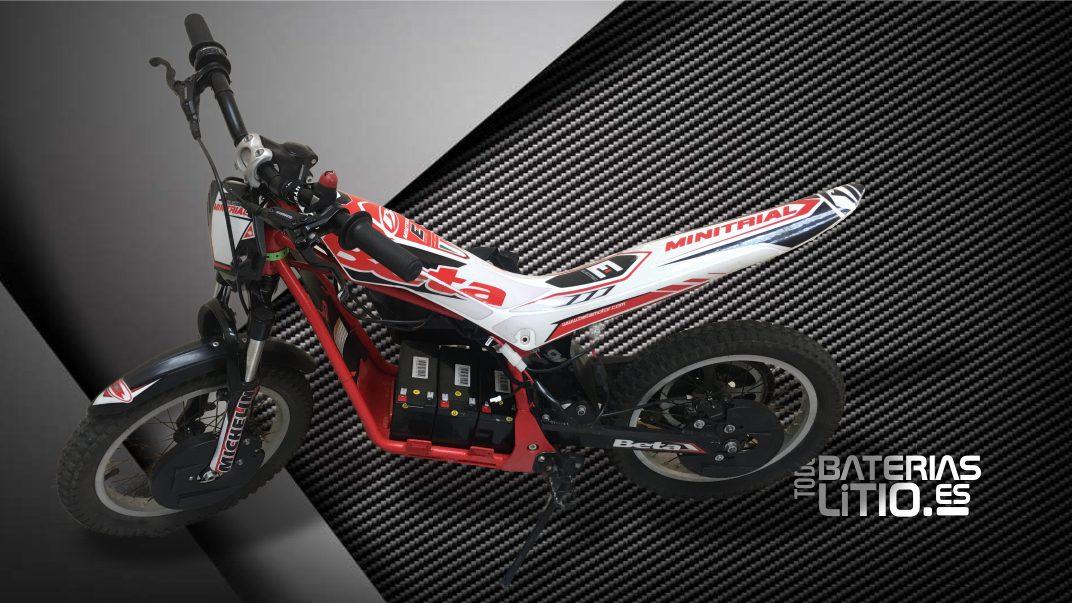 Caso real - Transformación 1 - Motocicleta eléctrica - Todo Baterias Litio BLOG