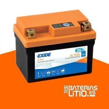 ELTZ5S - EXIDE - Baterías para motocicletas - TODO BATERIAS LITIO