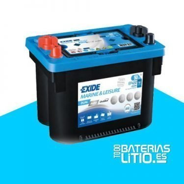 bateria-exide-marine-multifit-dual-agm-ep450-12v-50ah-750a Baterías para motocicletas - TODO BATERIAS LITIO