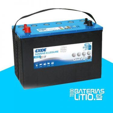bateria-exide-marine-multifit-dual-agm-ep900-12v-100ah-720a Baterías para motocicletas - TODO BATERIAS LITIO